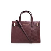 Kurt Geiger Woven London Tote Wine
