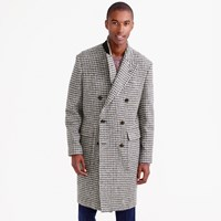J.Crew Topcoat In Oversize Houndstooth Irish Wool