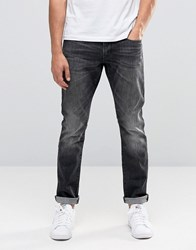 Esprit Skinny Fit Jeans In Washed Black Washed Black
