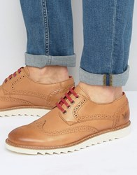 Lyle And Scott Ruthven Brogue Trainers Tan