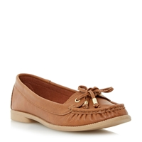Linea Gheko Boat Shoe Loafer Brown
