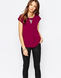 Vero Moda Sleeveless Top Red
