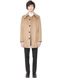 Valentino Camel Wool Cloth Coat