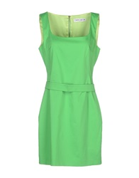 Frankie Morello Short Dresses Acid Green