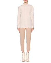 Piazza Sempione Peter Pan Collar Button Blouse