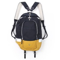Stighlorgan Brady Laptop Backpack Midnight Blue And Yellow