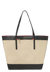 Paul's Boutique Kiera Tote Bag Natural Black Beige