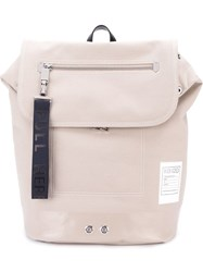Kenzo 'Kanvas' Backpack Nude And Neutrals