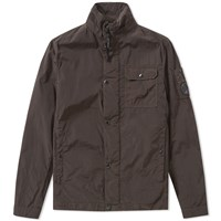 C.P. Company Arm Lens Zip Overshirt Green