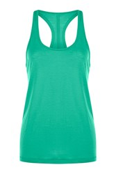 Lorna Jane Slouchy Gym Tank Green