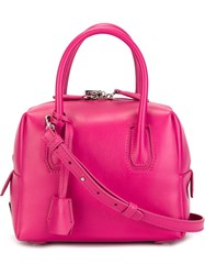 Mcm Small 'Milla' Tote Pink And Purple