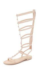 Rebecca Minkoff Giselle Tall Studded Sandals Blush