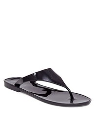 Bcbgeneration Jelly Thong Sandals Black