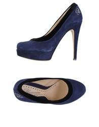 Blumarine Pumps Dark Blue