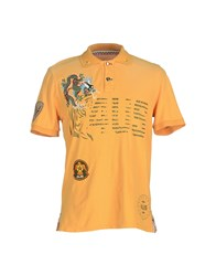 Cesare Paciotti 4Us Topwear Polo Shirts Men Ocher