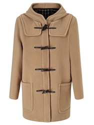 Gloverall Classic Mid Length Duffle Coat Tan