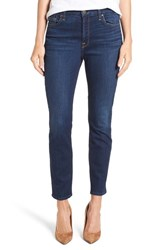 Jen7 Women's Stretch Ankle Skinny Jeans Authentic Royal Blue