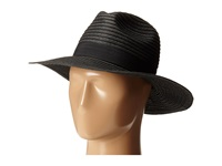 San Diego Hat Company Pbf7300 Paper Braid Fedora W Bow Band Black Fedora Hats