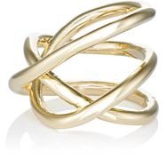 Jennifer Fisher Women's Abstract Line Ring Colorless