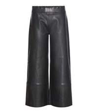 Stouls Leather Trousers Black