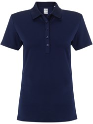 Callaway Chev Solid Polo Navy