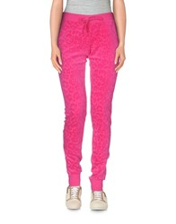 Juicy Couture Trousers Casual Trousers Women Fuchsia