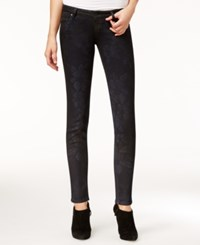 Guess Ultra Low Cherry Blossom Wash Skinny Jeans Cherry Bloom