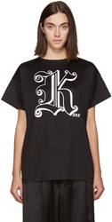 Christopher Kane Black 'Kane' T Shirt