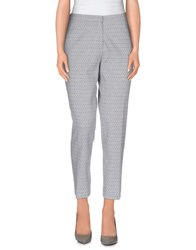 Just In Case Trousers Casual Trousers Women Light Grey
