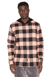 10.Deep Cb's Hooded Flannel Black