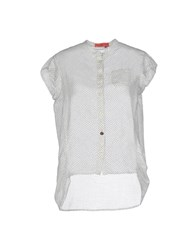 Manila Grace Denim Shirts Shirts Women White
