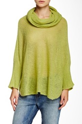 Wooden Ships Cowl Neck Ruana Green