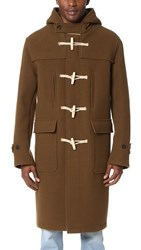 Our Legacy Extended Duffle Cocoon Coat Monk Brown