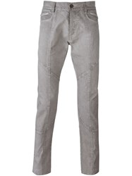 Unconditional Seam Detail Skinny Jeans Grey