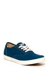 Keds Solid Army Twill Sneaker Blue