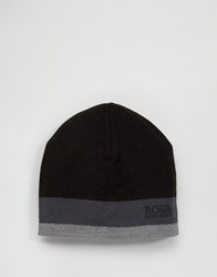 Hugo Boss Green By Ciny Logo Beanie Black