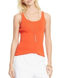 Lauren Ralph Lauren Solid Stretch Tank Tomato Red