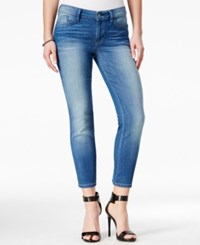 Guess Cropped Conway Wash Skinny Jeans