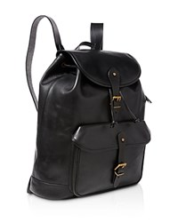 Polo Ralph Lauren Leather Backpack Black