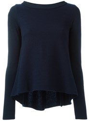 Dondup Boat Neck Knitted Blouse Black