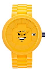 Lego 'Happiness' Bracelet Watch 42Mm Yellow