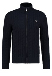 Gant Cardigan Evening Blue Dark Blue