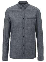 Eleven Paris Malawi Denim Shirt Blue