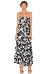 Samandlavi Layla Maxi Dress Navy
