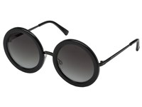 Von Zipper Fling Black Translucent Black Grey Gradient Sport Sunglasses
