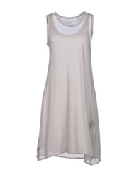 Blauer Short Dresses Light Grey