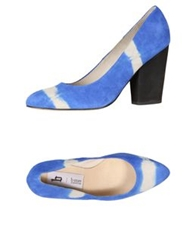 B Store Pumps Bright Blue