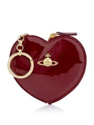 Vivienne Westwood Charms Heart Keyring Red