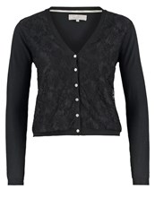 Cream Laura Cardigan Pitch Black