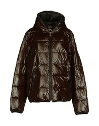 Jcolor Coats And Jackets Down Jackets Women Dark Brown